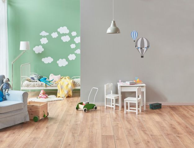 Modern,Baby,Room,White,Bed,And,Toy.,White,Small,Table