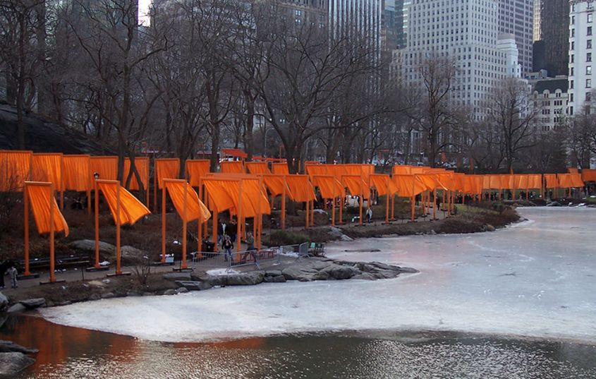 christo the gates central park
