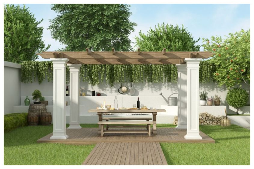 come ancorare gazebo