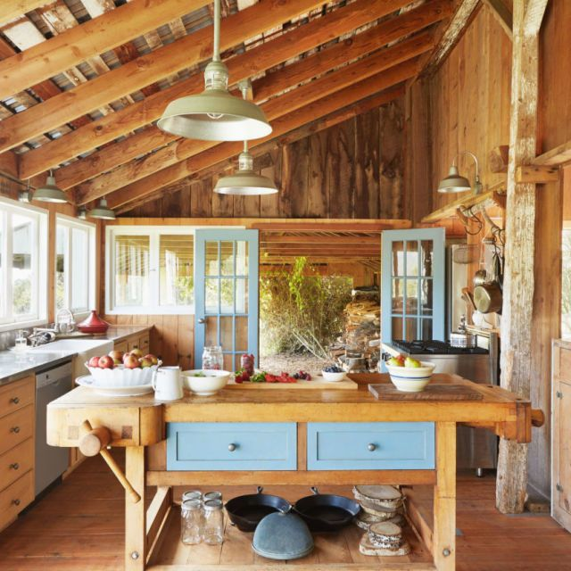 Cucine in stile country le pi belle da pinterest for Stili di interior design
