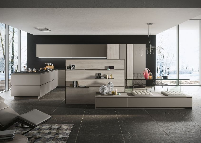Le cucine open space