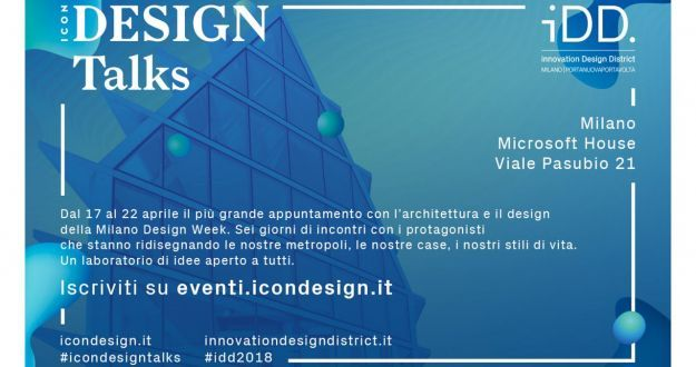 eventi fuorisalone 2018 icon design talks