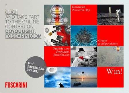 Posticipazione del concorso Do you Light? di Foscarini