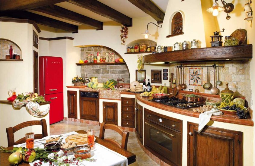 Arredamento Cucine Rustiche. Simple Cucine Classiche With ...