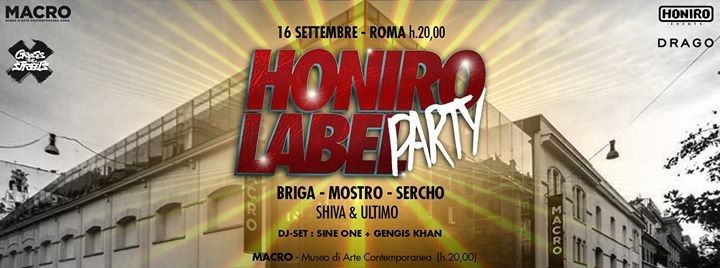 honiro label party roma macro