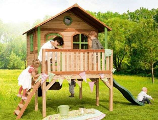 idee per arredare un giardino kids friendly casa
