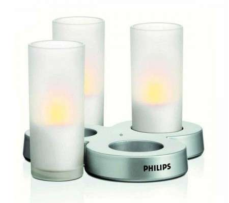 San Valentino 2011: lampade Imageo Candle Light Philips