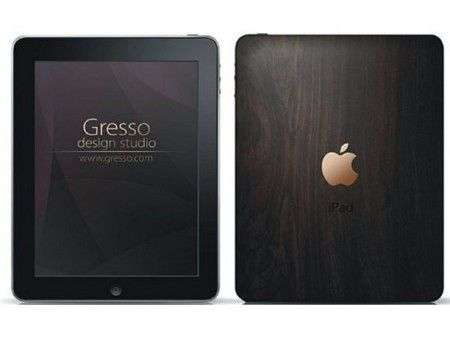 Accessori hi-Tech: iPad in legno