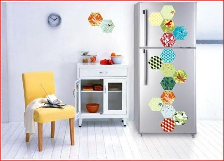 iDesign Wall Stickers: cambia look al tuo frigo