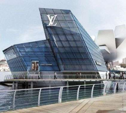 La nuova boutique Louis Vuitton a Singapore