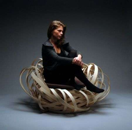 Poltrone di design: Nest Chair di Nina Bruun