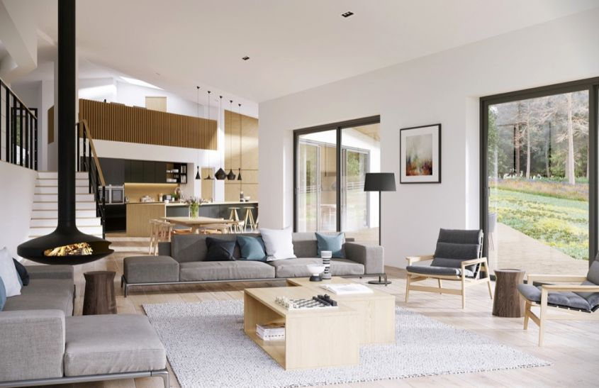 Open space, le differenze con il loft