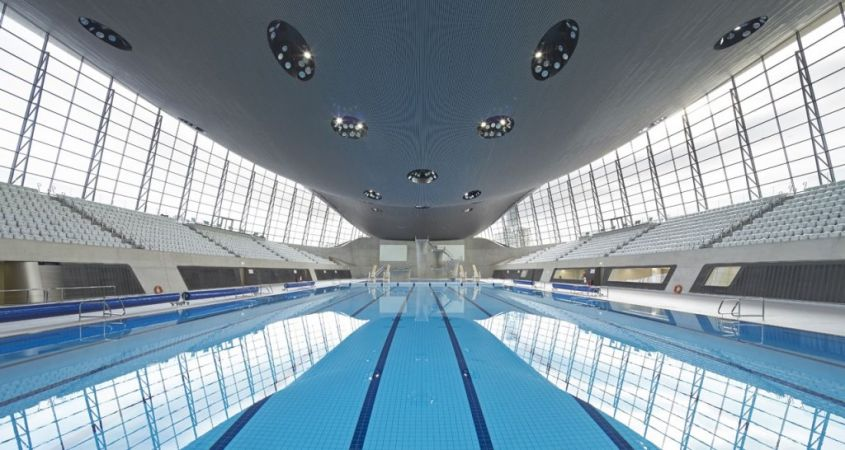 piscina aquatic center london