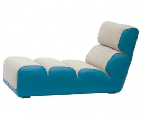 Roche Bobois: Poltrona Tie Break in stile pop