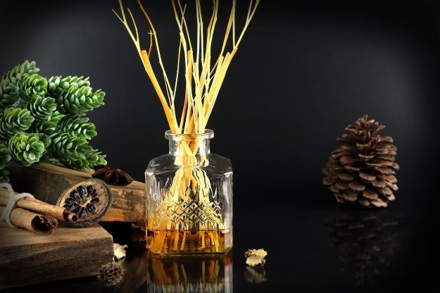 The,Luxury,Scented,Aroma,Room,Fresherner,Reed,Diffuser,Sticks,Glass
