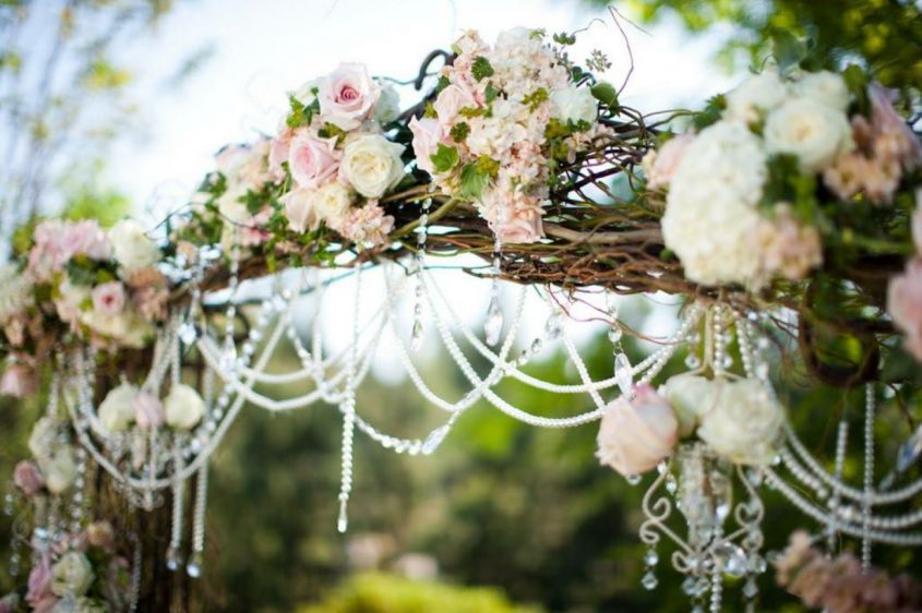 Decorazioni per matrimonio shabby chic