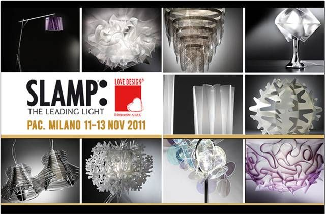 Slamp sposa la causa dell'Airc all'evento Love Design 2011